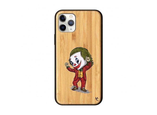 Coque iPhone 11 PRO Joker Dance Bois Bamboo