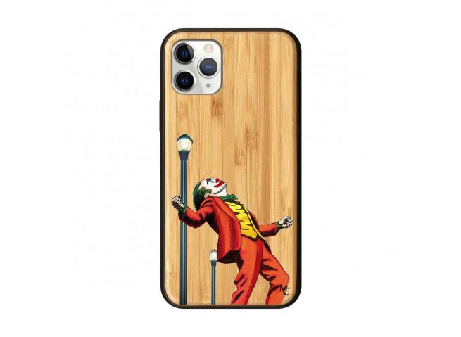 Coque iPhone 11 PRO Joker Bois Bamboo