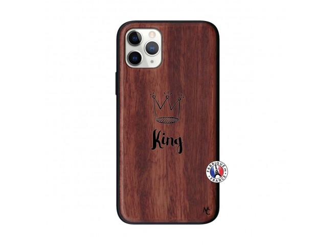 Coque iPhone 11 PRO King Bois Walnut