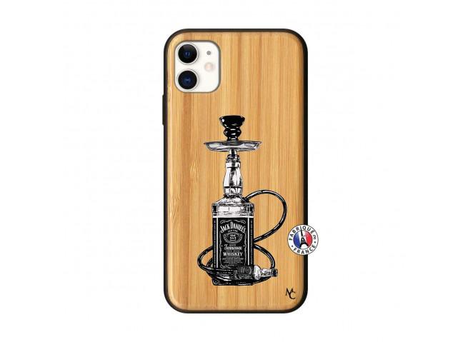 Coque iPhone 11 Jack Hookah Bois Bamboo