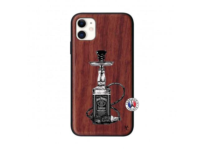 Coque iPhone 11 Jack Hookah Bois Walnut