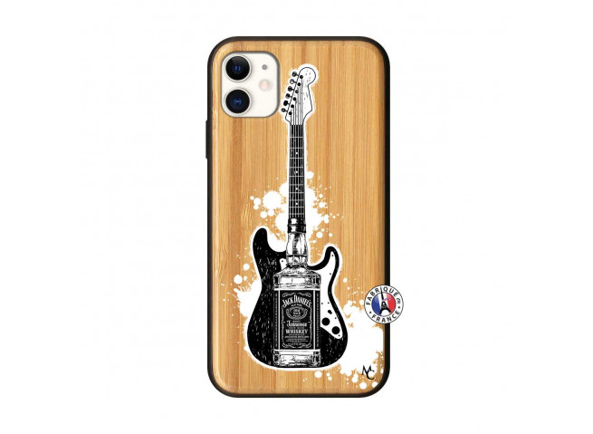 Coque iPhone 11 Jack Let's Play Together Bois Bamboo