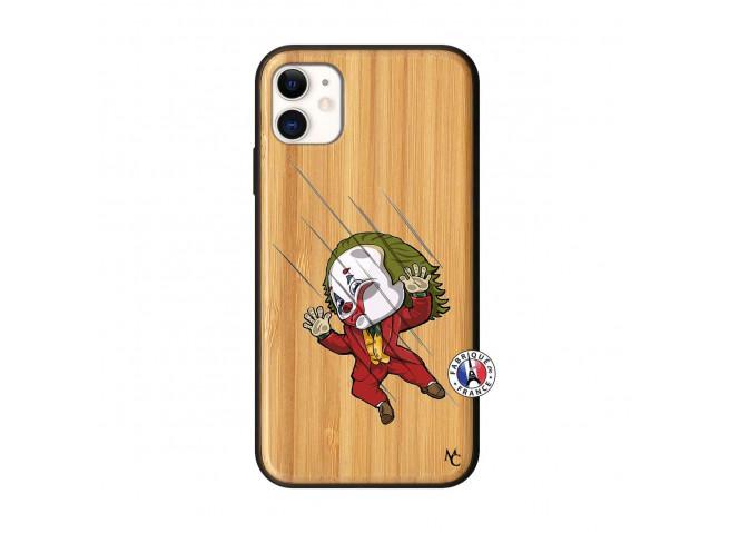 Coque iPhone 11 Joker Impact Bois Bamboo