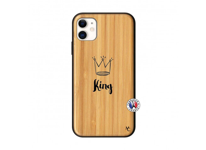 Coque iPhone 11 King Bois Bamboo