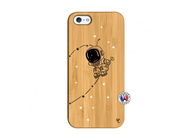 Coque iPhone 5/5S/SE Astro Boy Bois Bamboo