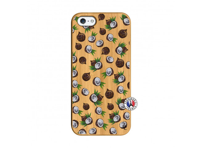 Coque iPhone 5/5S/SE Coco Bois Bamboo
