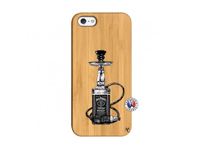 Coque iPhone 5/5S/SE Jack Hookah Bois Bamboo