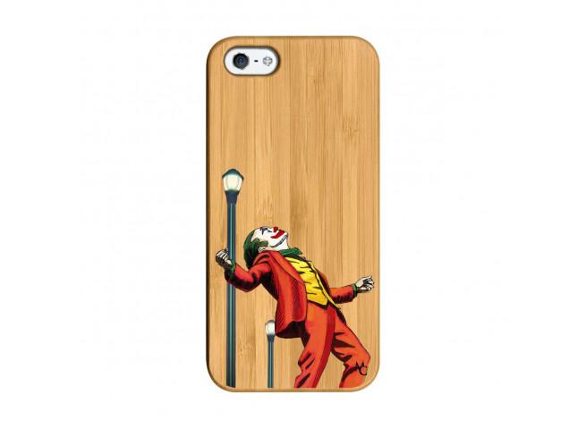 Coque iPhone 5/5S/SE Joker Bois Bamboo