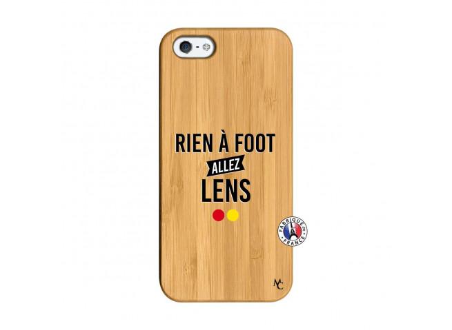 Coque iPhone 5/5S/SE Rien A Foot Allez Lens Bois Bamboo