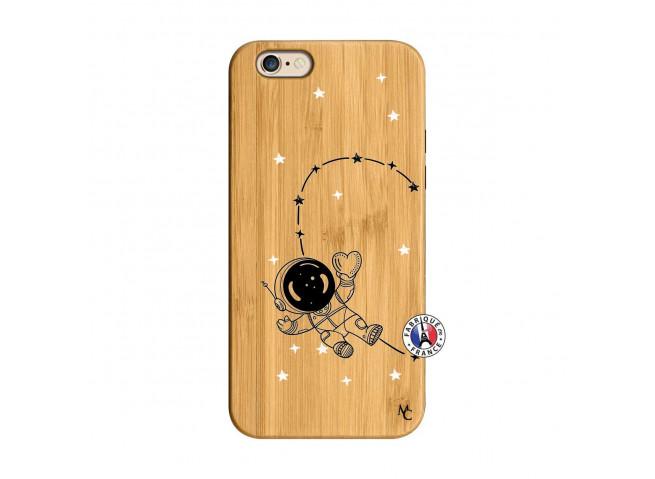 Coque iPhone 6/6S Astro Girl Bois Bamboo