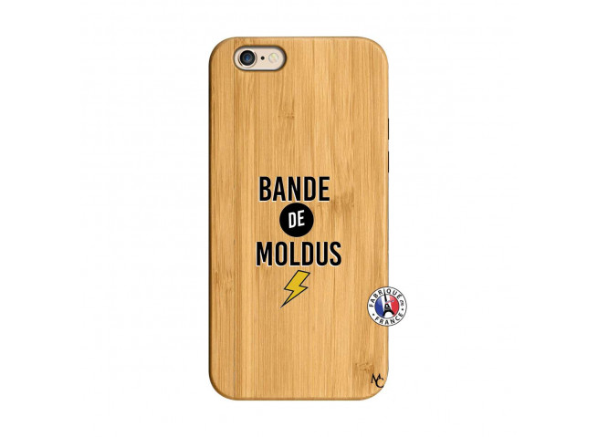 Coque iPhone 6/6S Bandes De Moldus Bois Bamboo