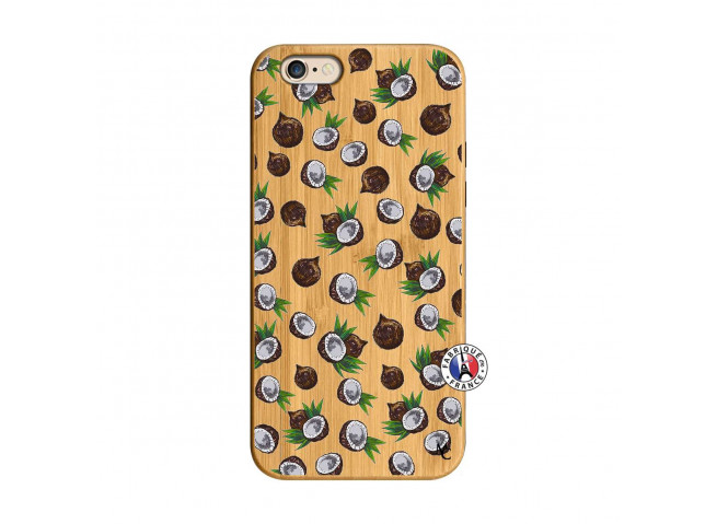 Coque iPhone 6/6S Coco Bois Bamboo