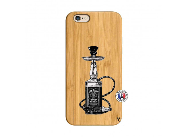 Coque iPhone 6/6S Jack Hookah Bois Bamboo