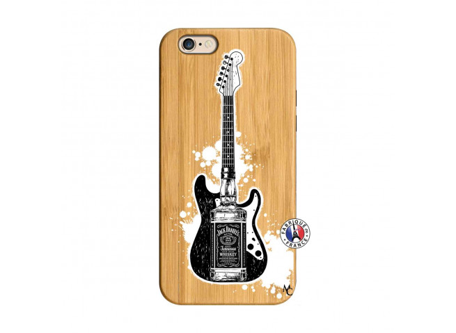 Coque iPhone 6/6S Jack Let's Play Together Bois Bamboo