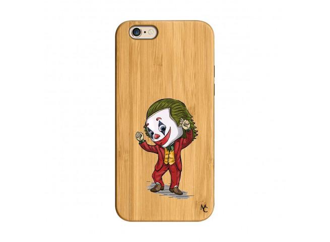 Coque iPhone 6/6S Joker Dance Bois Bamboo