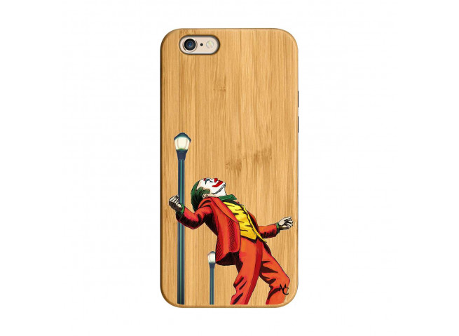 Coque iPhone 6/6S Joker Bois Bamboo