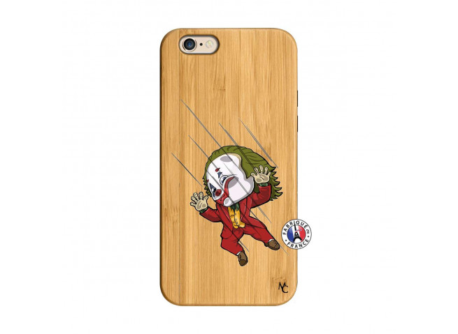 Coque iPhone 6/6S Joker Impact Bois Bamboo