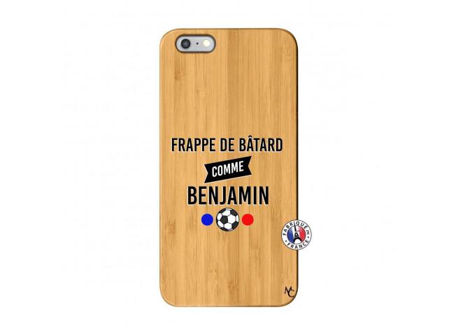 Coque iPhone 6Plus/6S Plus Frappe De Batard Comme Benjamin Bois Bamboo