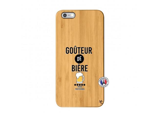 Coque iPhone 6Plus/6S Plus Gouteur De Biere Bois Bamboo