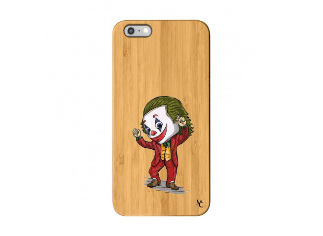 Coque iPhone 6Plus/6S Plus Joker Dance Bois Bamboo