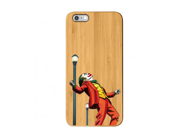 Coque iPhone 6Plus/6S Plus Joker Bois Bamboo