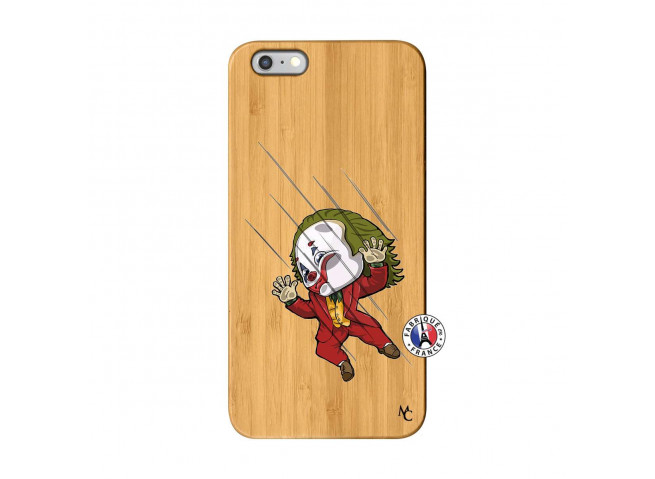 Coque iPhone 6Plus/6S Plus Joker Impact Bois Bamboo