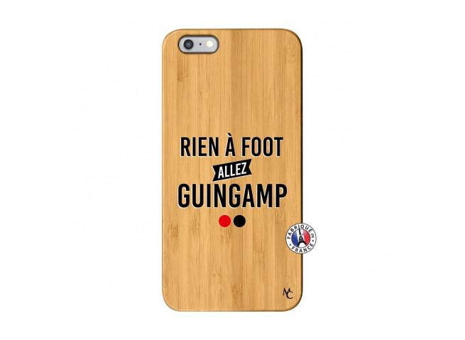 Coque iPhone 6Plus/6S Plus Rien A Foot Allez Guingamp Bois Bamboo