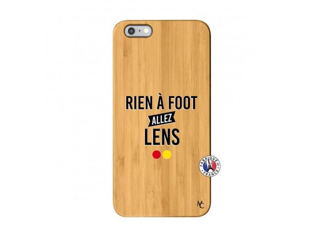 Coque iPhone 6Plus/6S Plus Rien A Foot Allez Lens Bois Bamboo
