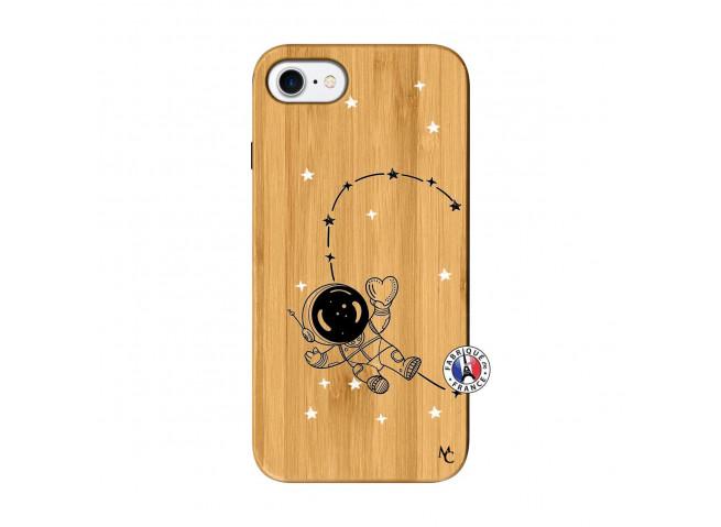 Coque iPhone 7/8 Astro Girl Bois Bamboo