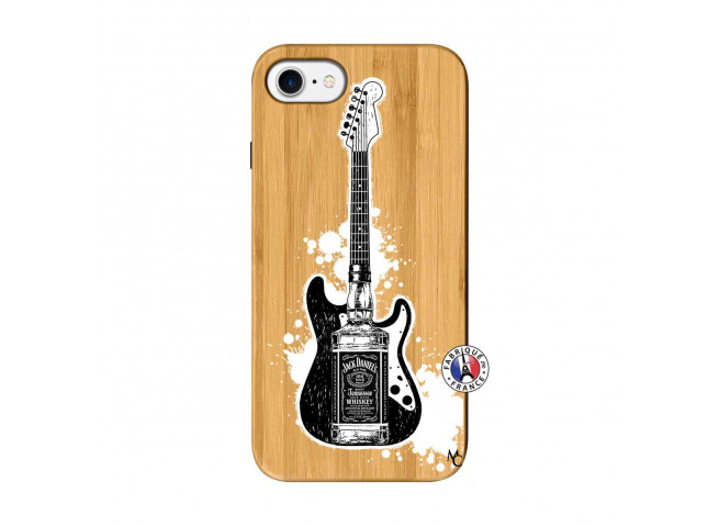 Coque iPhone 7/8 Jack Let's Play Together Bois Bamboo