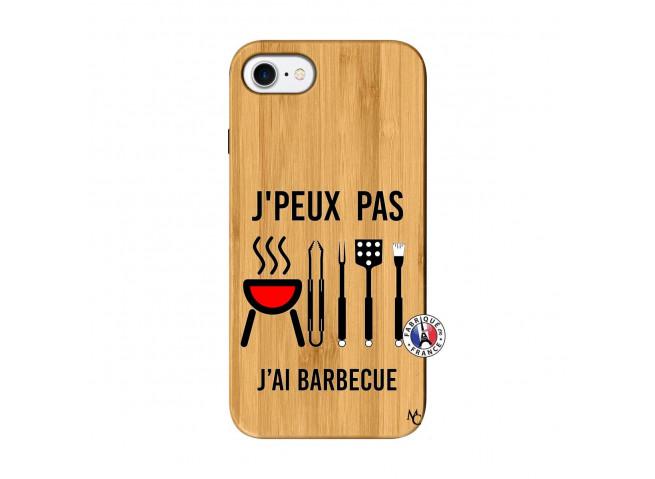 Coque Bois iPhone 7/8 Je Peux Pas J Ai Barbecue