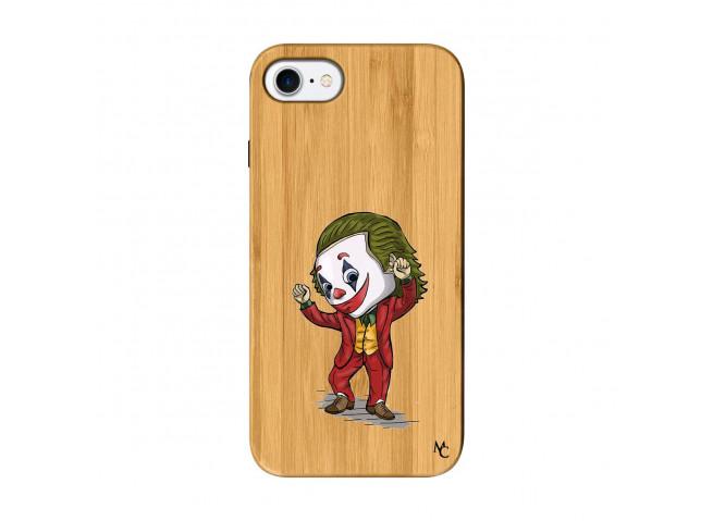 Coque iPhone 7/8 Joker Dance Bois Bamboo