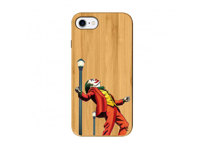 Coque iPhone 7/8 Joker Bois Bamboo