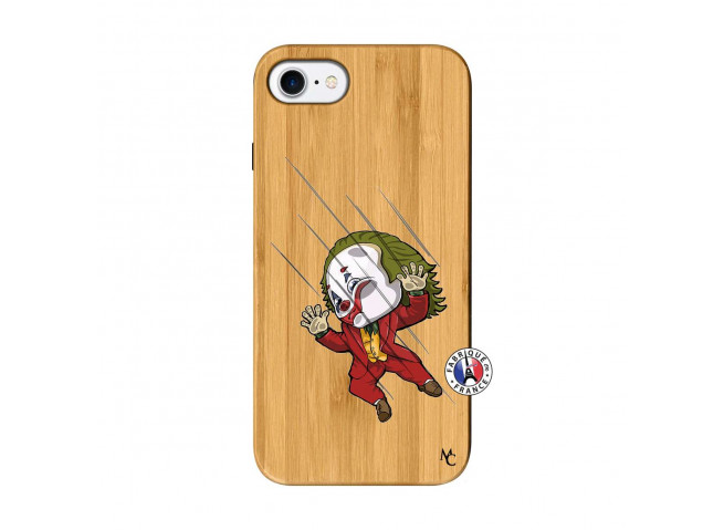 Coque iPhone 7/8 Joker Impact Bois Bamboo