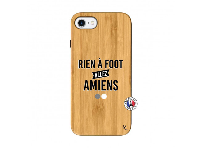 Coque iPhone 7/8 Rien A Foot Allez Amiens Bois Bamboo