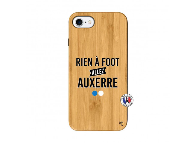 Coque iPhone 7/8 Rien A Foot Allez Auxerre Bois Bamboo