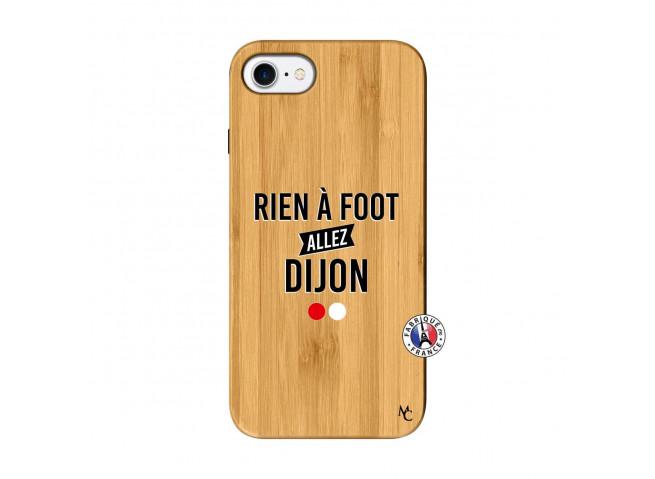Coque iPhone 7/8 Rien A Foot Allez Dijon Bois Bamboo
