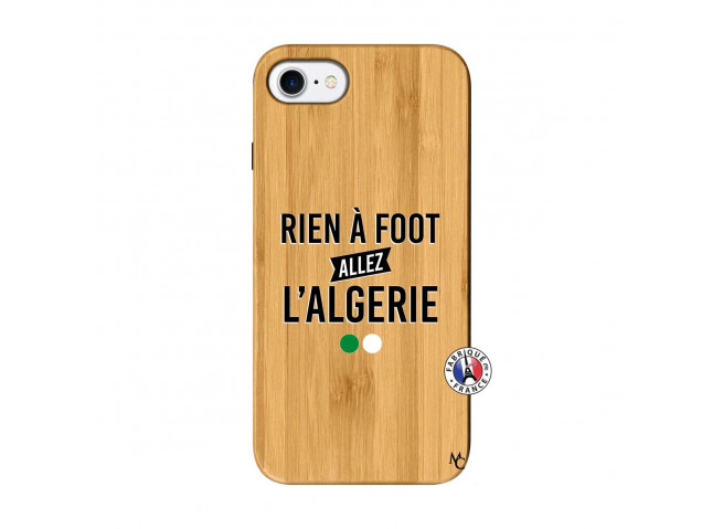 Coque iPhone 7/8 Rien A Foot Allez L Algerie Bois Bamboo