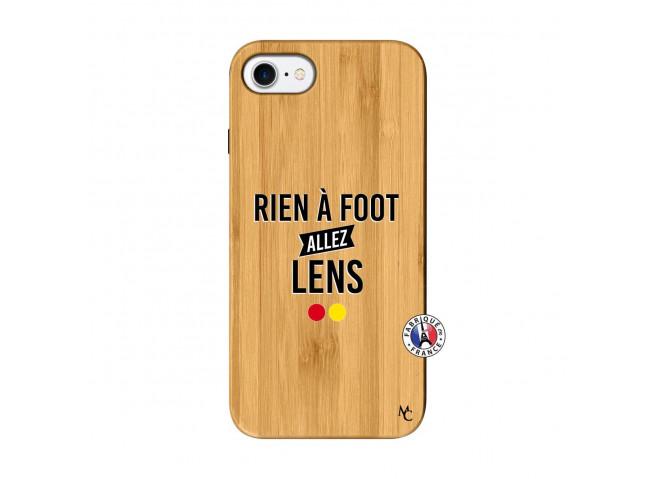 Coque iPhone 7/8 Rien A Foot Allez Lens Bois Bamboo