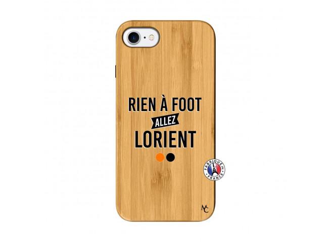 Coque iPhone 7/8 Rien A Foot Allez Lorient Bois Bamboo