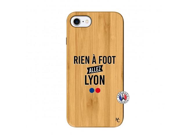 Coque iPhone 7/8 Rien A Foot Allez Lyon Bois Bamboo
