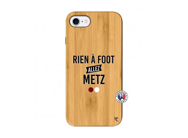 Coque iPhone 7/8 Rien A Foot Allez Metz Bois Bamboo