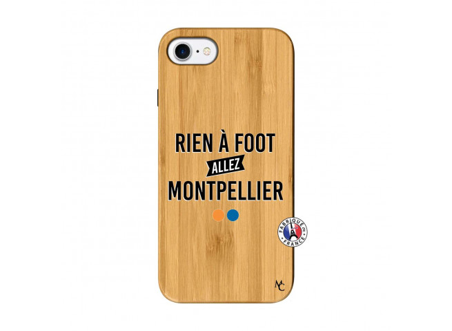 Coque iPhone 7/8 Rien A Foot Allez Montpellier Bois Bamboo