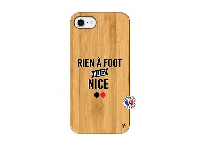 Coque iPhone 7/8 Rien A Foot Allez Nice Bois Bamboo