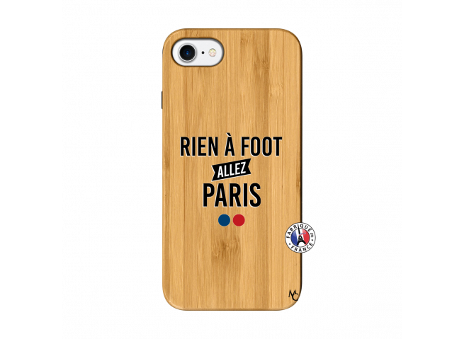 Coque iPhone 7/8 Rien A Foot Allez Paris Bois Bamboo