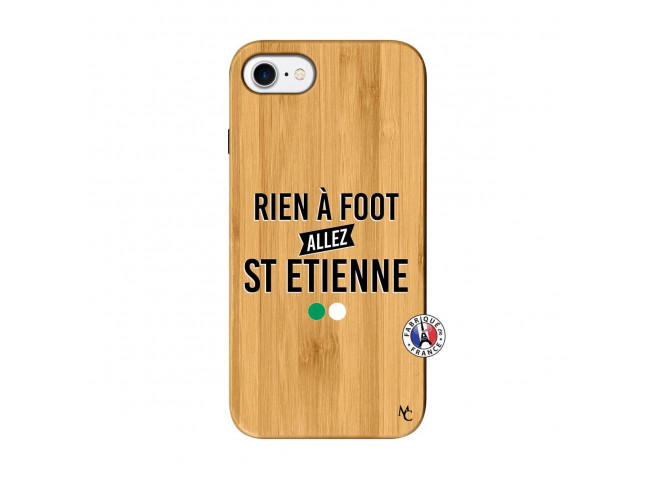 Coque iPhone 7/8 Rien A Foot Allez St Etienne Bois Bamboo
