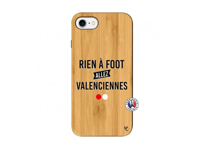Coque iPhone 7/8 Rien A Foot Allez Valenciennes Bois Bamboo