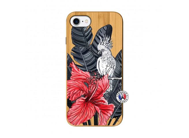 Coque iPhone 7/8/se 2020 Papagal Bois Bamboo