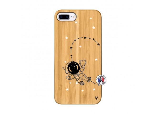 Coque iPhone 7Plus/8Plus Astro Girl Bois Bamboo