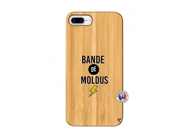 Coque iPhone 7Plus/8Plus Bandes De Moldus Bois Bamboo